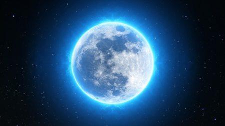 射手座満月の昨晩